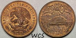 Mexico 20 Centavos 1968 KM#440 XF+