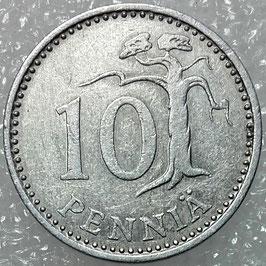 Finland 10 Penniä 1983-1990 KM#46a