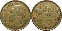 France 50 Francs 1950-1958 KM#918.1