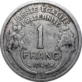 France 1 Franc 1944-1945 Castelsarrasin KM#885a.3