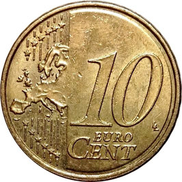 Spain 10 Cents 2014 KM#1147 VF
