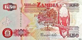 Zambia 50 Kwacha 2009 P.37h Series BR/03