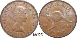 Australia 1 Penny 1961 KM#56 VF