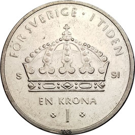 Sweden 1 Krona 2001-2012 KM#894