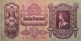 Hungary 100 Pengö 01.07.1930 P.112 F