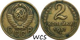 Soviet Union 2 Kopeks 1957 Y#120 VF-