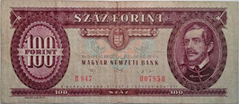 Hungary 100 Forint 15.01.1992 P.174a F