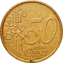 Austria 50 Cents 2002-2007 KM#3087