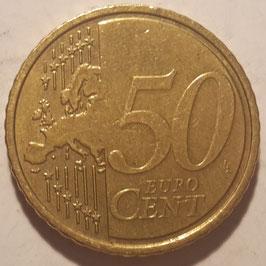 Slovenia 50 Cents 2007 KM#73 VF-