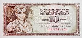 Yugoslavia 10 Dinara 01.05.1968 P.82