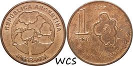 Argentina 1 Peso 2017-2019 UC#1
