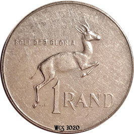 South Africa 1 Rand 1977-1989 KM#88a