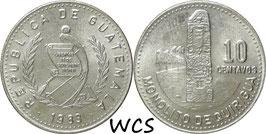Guatemala 10 Centavo 1983-1986 KM#277.4