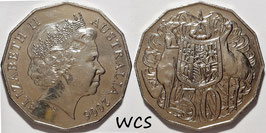 Australia 50 Cents 2006 KM#404 UNC