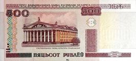 Belarus 500 Rubles 2000 (2011) P.27b UNC