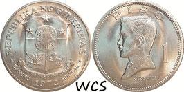 Philippines 1 Piso 1972-1974 KM#203