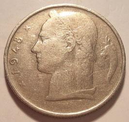 Belgium 5 Francs 1948-1981 BELGIE KM#135.1