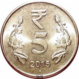 India 5 Rupees 2011-2017 KM#399