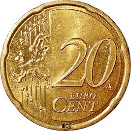 Austria 20 Cents 2008-Date KM#3140