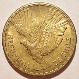 Chile 10 Centesimos 1960-1970 KM#191