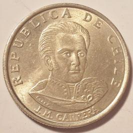 Chile 1 Escudo 1971-1972 KM#197