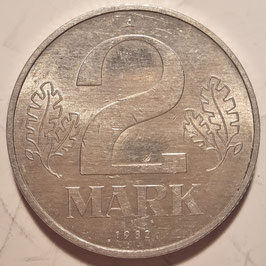 GDR 2 Mark 1972-1990 KM#48