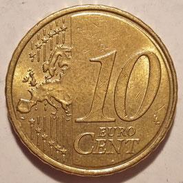 France 10 Cents 2007-2016 KM#1410