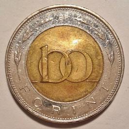 Hungary 100 Forint 1990-2015 KM#721