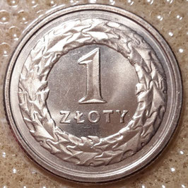 Poland 1 Zloty 1990-2016 Y#282