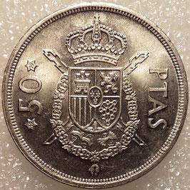 Spain 50 Pesetas 1975 KM#809