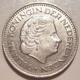 Netherlands 1 Gulden 1967-1980 KM#184a