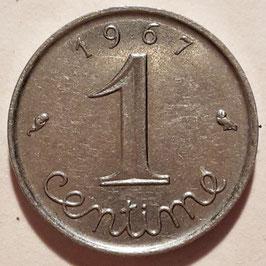 France 1 Centime 1961-2001 KM#928