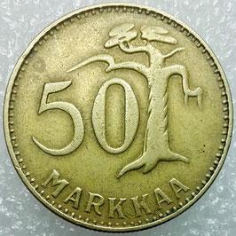 Finland 50 Penniä 1963-1990 KM#48