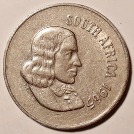 South Africa 10 Cents 1965-1969 SOUTH AFRICA KM#68.1