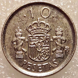 Spain 10 Pesetas 1992 KM#903 VF