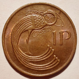 Ireland 1 Penny 1971-1988 KM#20