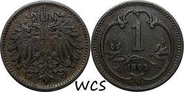 Austria 1 Heller 1892-1916 KM#2800