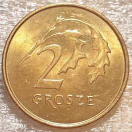 Poland 2 Grosze 1990-2014 Y#277