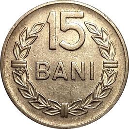 Romania 15 Bani 1960 KM#87 XF