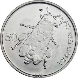 Slovenia 50 Stotinov 1992-2006 KM#3