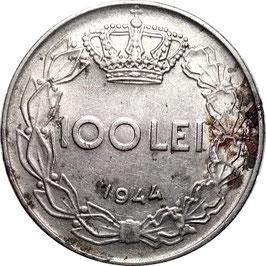 Romania 100 Lei 1943-1944 KM#64