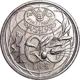 Italy 100 Lire 1995 KM#180 VF - F.A.O.