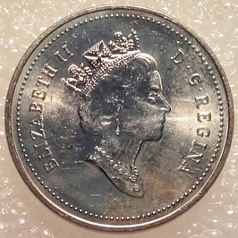 Canada 5 Cents 1990-2001 KM#182
