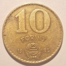 Hungary 10 Forint 1983-1989 KM#636