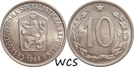 Czechoslovakia 10 Haleru 1961-1971 KM#49.1
