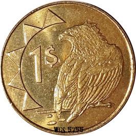 Namibia 1 Dollar 1993-2010 KM#4