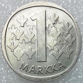 Finland 1 Markka 1969-1993 KM#49a
