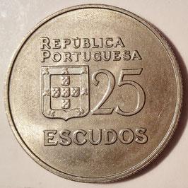 Portugal 25 Escudos 1980-1986 KM#607a
