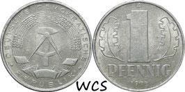 GDR 1 Pfennig 1973 A KM#8.1 VF