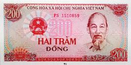 Vietnam 200 Dong 1987 P.100a UNC